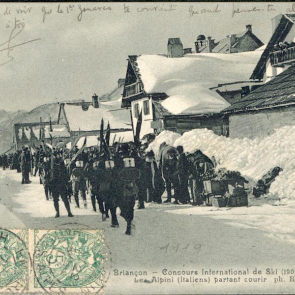 Alpini (itatlien) - Concours International 1907 © Office de Tourisme de Montgenèvre