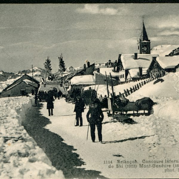 Histoire de Montgenèvre - Concours International 1907 © Office de Tourisme de Montgenèvre