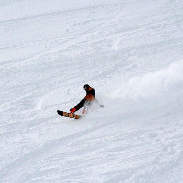 Espace Free Ride Montgenèvre - Snowboard - Station de ski des Hautes Alpes © Office de Tourisme de Montgenèvre