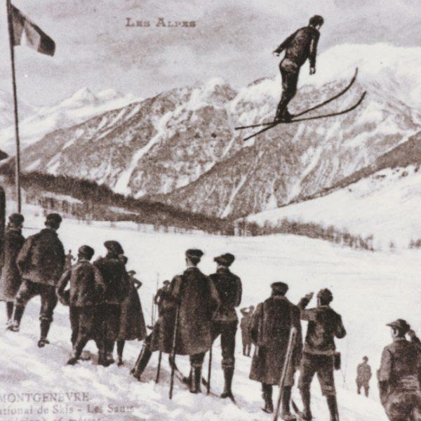 Saut à ski - Concours International de ski 1907