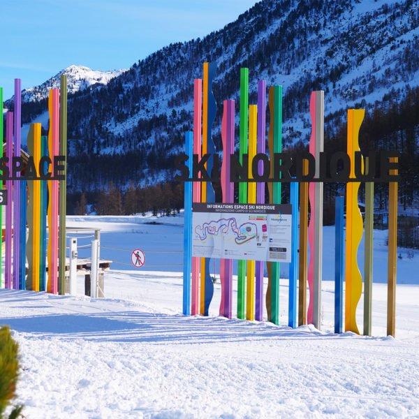Ski Nordique - Montgenèvre - Station de ski des Hautes Alpes © Office de Tourisme de Montgenèvre