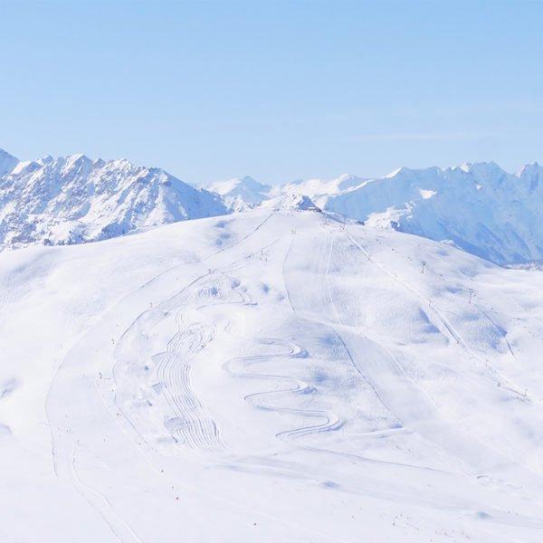 Secteur Gondrans - Montgenèvre - Station de ski des Hautes Alpes © Office de Tourisme de Montgenèvre