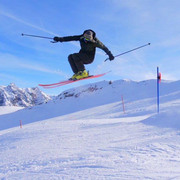SnowPark - Montgenèvre - Station de ski des Hautes Alpes © Office de Tourisme de Montgenèvre