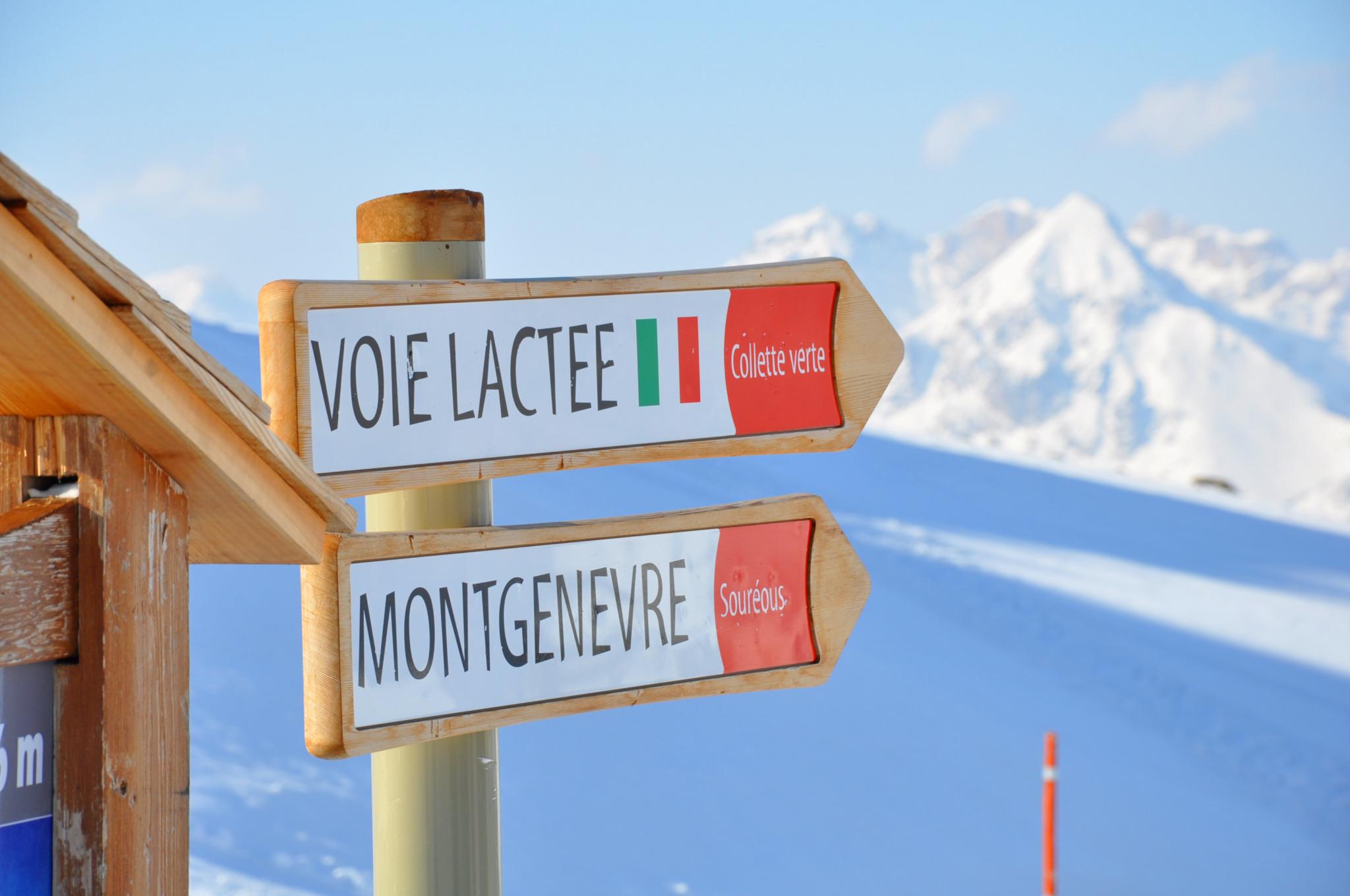 Ski Alpin - Montgenèvre - Station de ski des Hautes Alpes © Office de Tourisme de Montgenèvre