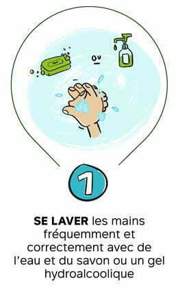 #CetHiverJeSkie - Geste 1 - Se Laver les mains